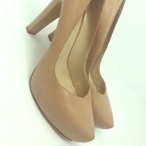 Nine West 4 1/2 inch heels with 1 inch platform